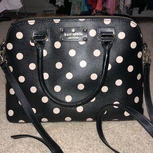 Kate spade dizzy dot handbag